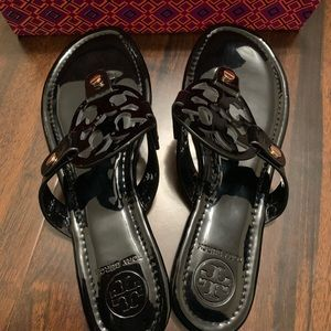 Tory Burch Miller Sandal NWT Patent Leather